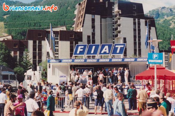 podium départ tour de france 1993 à Serre Chevalier