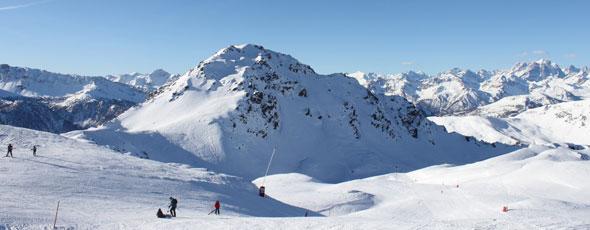 Point ski neige dans le Briançonnais