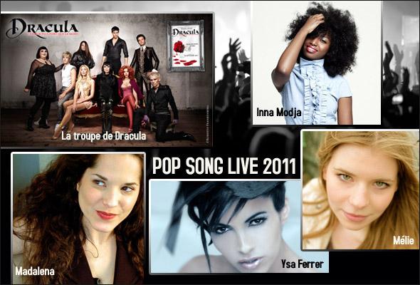 artistes pop song live briançon juillet 2011
