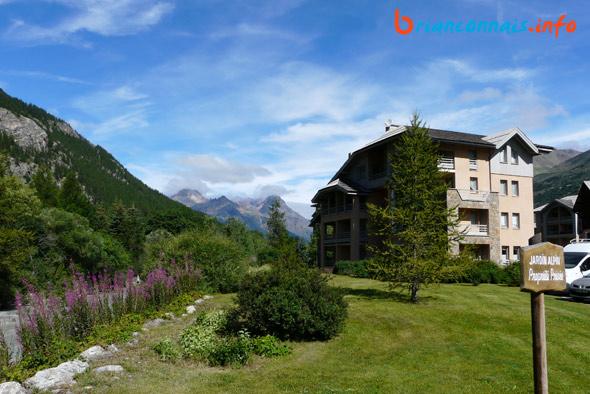 résidence capucine jardin alpin serre chevalier