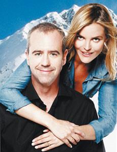 Bruno Roblès et Justine Fraioli à Montgenèvre