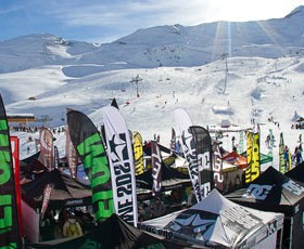 Rock on Snowboard Tour à Serre Chevalier