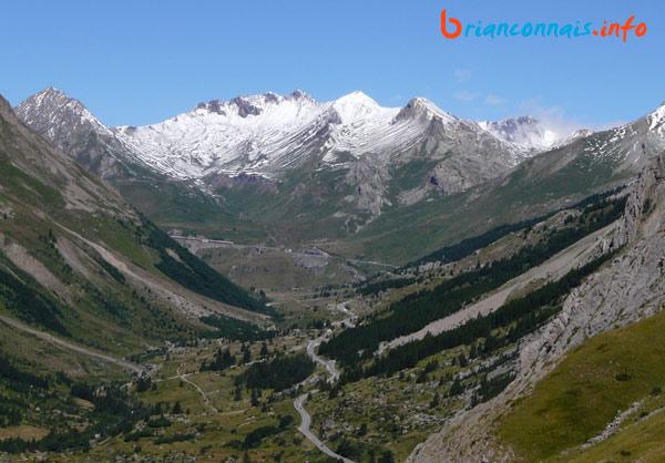 La route après Pont de l'Alpe