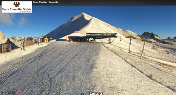webcam serre chevalier 11 octobre 2013