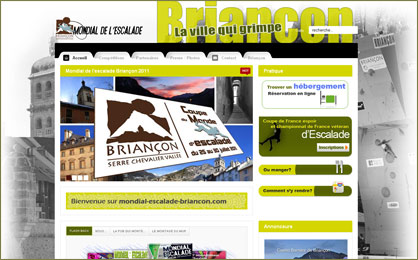 site officiel mondial escalade briancon