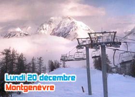 ski montgenèvre 20 décembre 2010