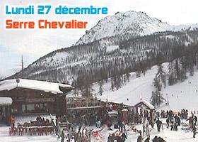 ski serre chevalier 27 décembre 2010