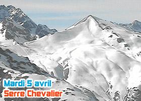 ski serre chevalier 5 avril 2011