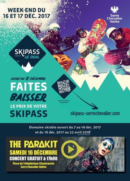 ski serre chevalier 16 decembre 2017