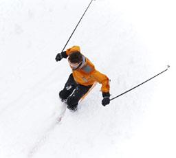 Vidéo ski à Briançon