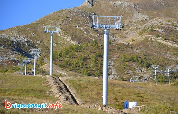 Télésiège des Bruyères à Puy Saint Vincent