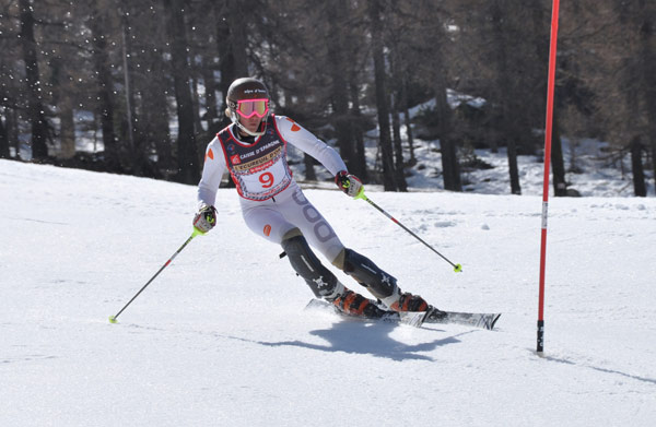 tom almos arsenne 2e slalom montgenèvre