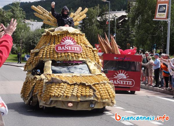 Caravane publicitaire Banette