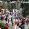 Passage des coureurs à Villeneuve 1
