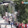 Passage des coureurs à Villeneuve 2