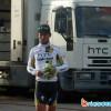 Arrivée du maillot vert Mark Cavendish à son hôtel