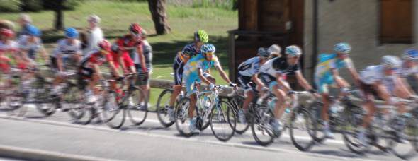 Arrivée du Tour 2017 à Serre Chevalier
