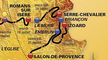 Le Tour 2017 dans le Briançonnais