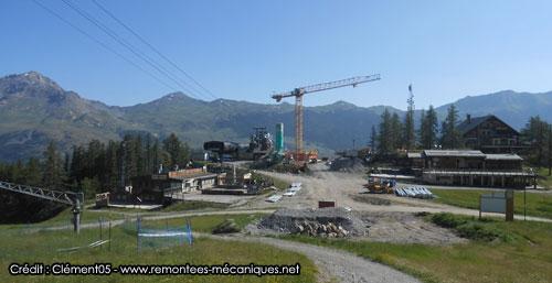travaux 27 juillet 2013 à Serre Ratier