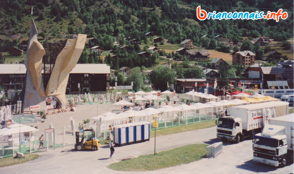 village tour de france 1993 à serre-chevalier