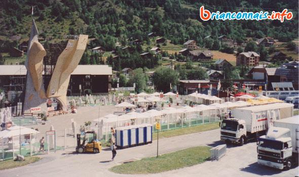 village tour de france 1993 à serre-chevalier