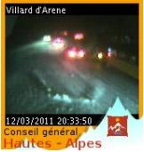 webcam lautaret 20h30