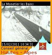webcam monetier route