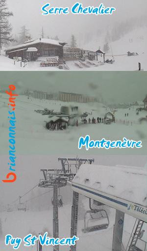 webcams brianconnais le 15 février 2011