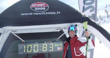 X Speed Ski Tour 2011 à Serre Chevalier