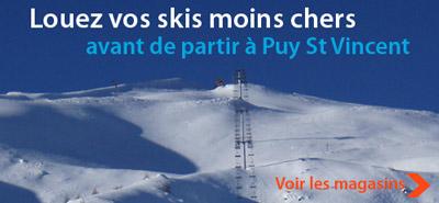 location ski puy saint vincent
