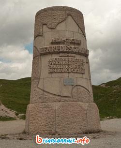 monument henri desgrange col galibier