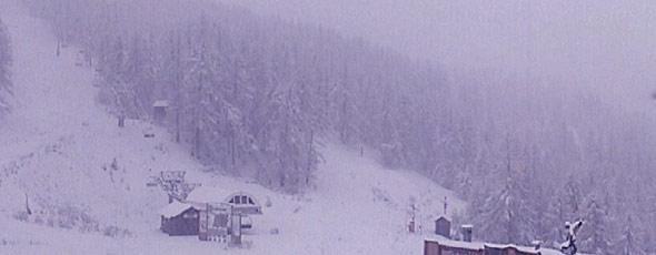 Et encore de la neige le 7 décembre !