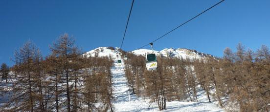 Plus de ski à Serre Che pour les vacances d'hiver