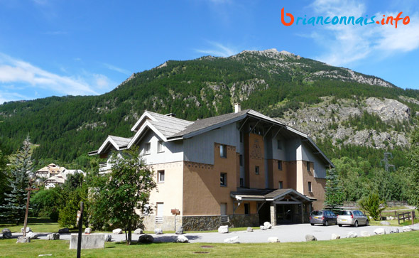 résidence Anémone jardin alpin serre chevalier